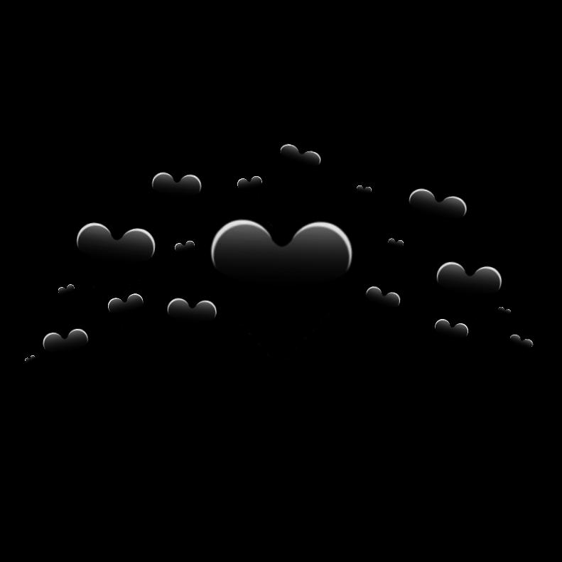 black heart crown  u2665 black heart crown blackhear Be Mine Valentine Clip Art for Boys Valentine's Day Clip Art
