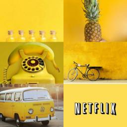 FreeToEdit Yellow tumblr aesthetic