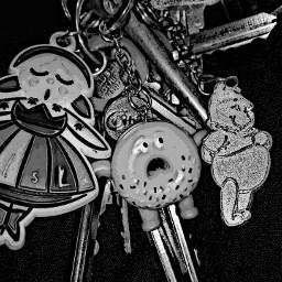 keys blackandwhite