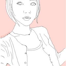 followcookie travel draw koreangirl selfie