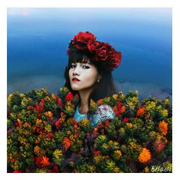 freetoedit autumn nature girl