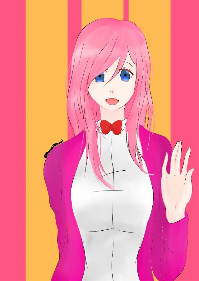 Facebook request    5   #anime #animegirl #pink