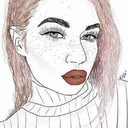 tumblr aesthetic tumblraesthetic outline drawing freetoedit