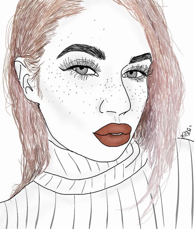 #tumblr #aesthetic #tumblraesthetic #outline #drawing #tumblrdrawing #tumblroutline #pinkhair #interesting #madeit #itsbeenawhile #FreeToEdit