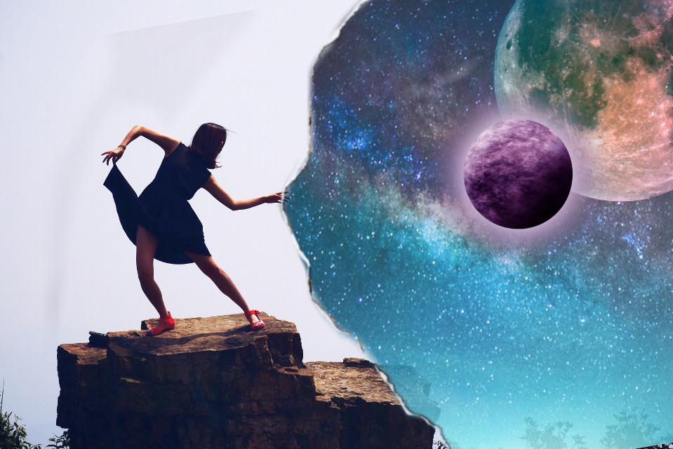 #FreeToEdit #edited #solarsystem #moon #cool