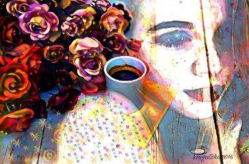 freetoedit picsart layers woman watercolorpainting