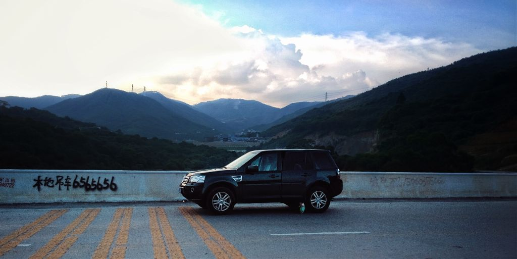 #nature #travel #sky #highway #Car#mountains